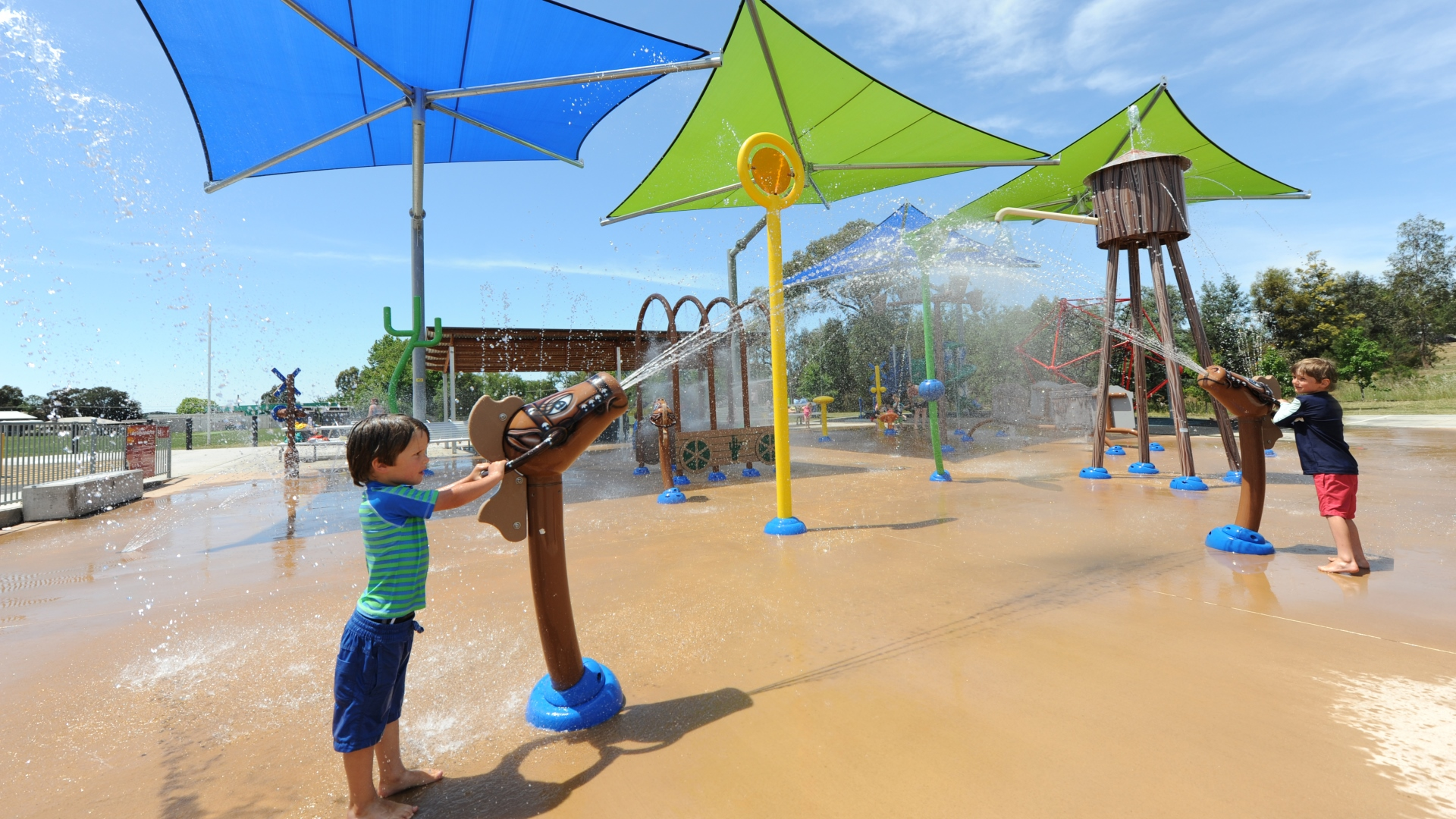 Bendigo Long Gully Splash Park
