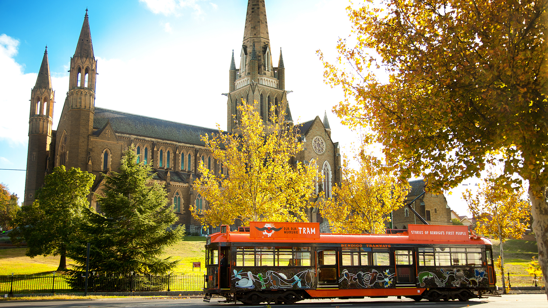 Bendigo Tramways Autumn.
