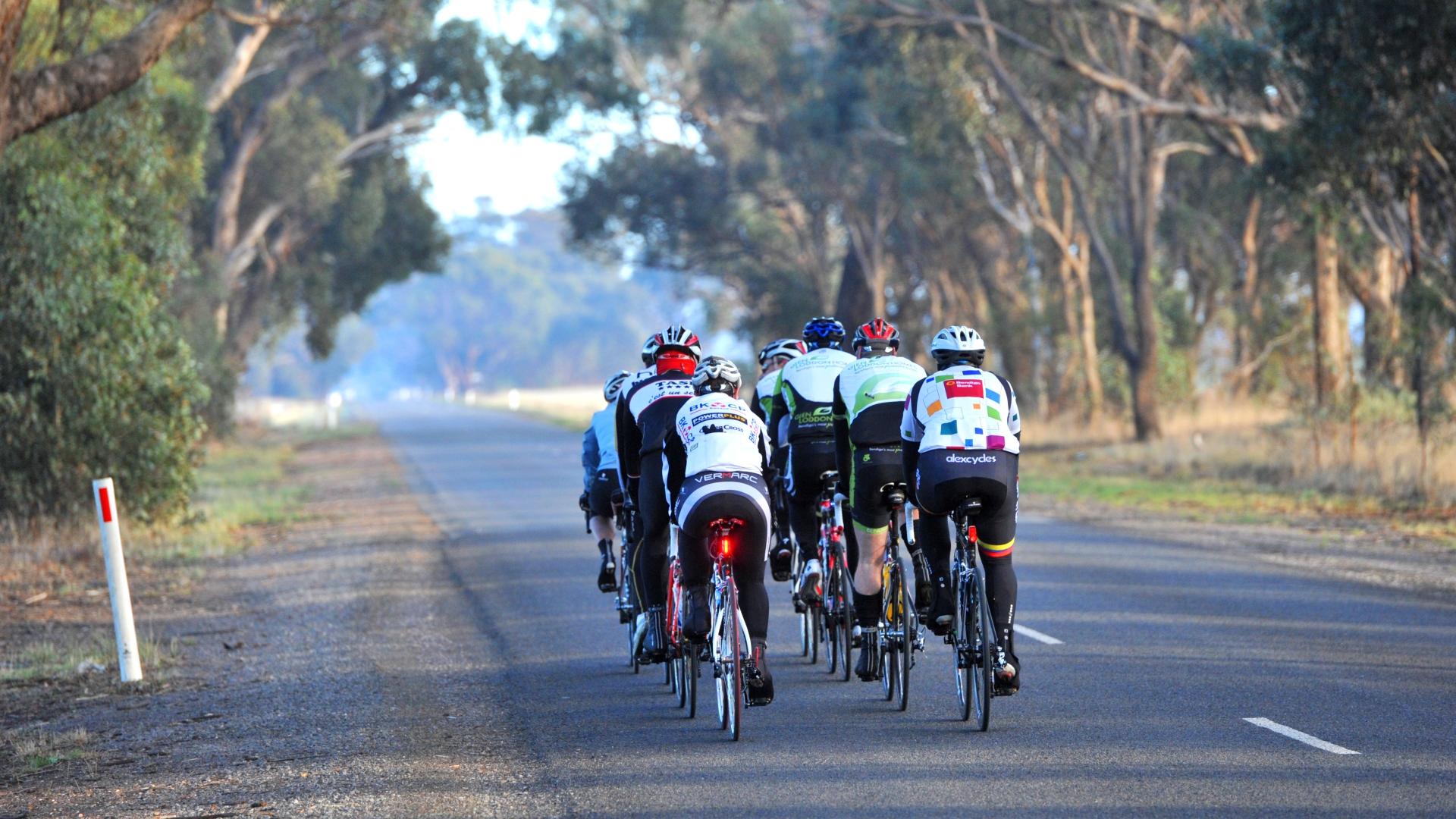 Riding in Bendigo