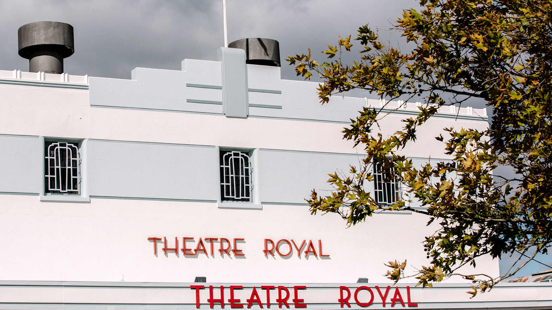 The Theatre Royal in Castlemaine