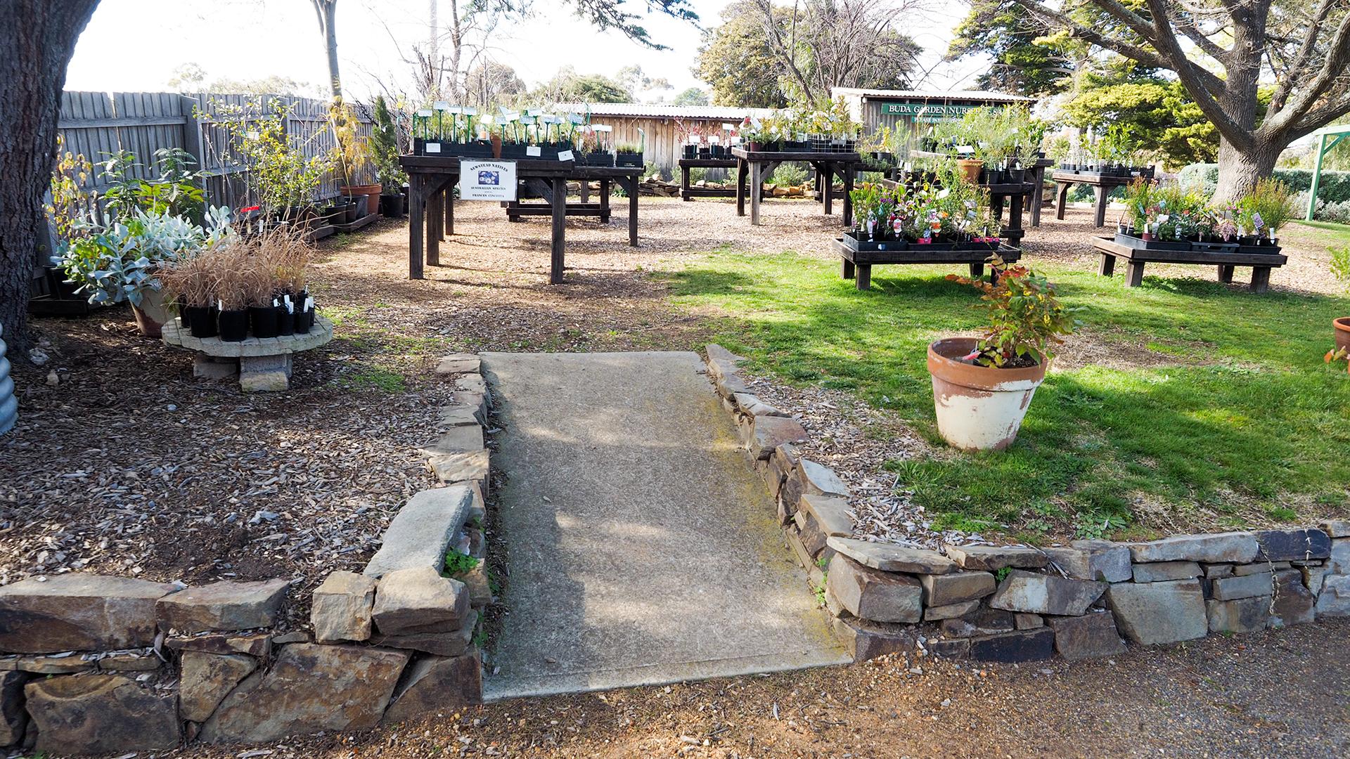 Buda Historic Home Garden Accessibility Details Castlemaine Maldon Surrounds