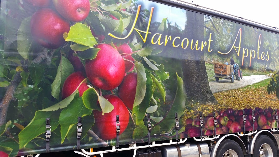 Harcourt Apple Truck