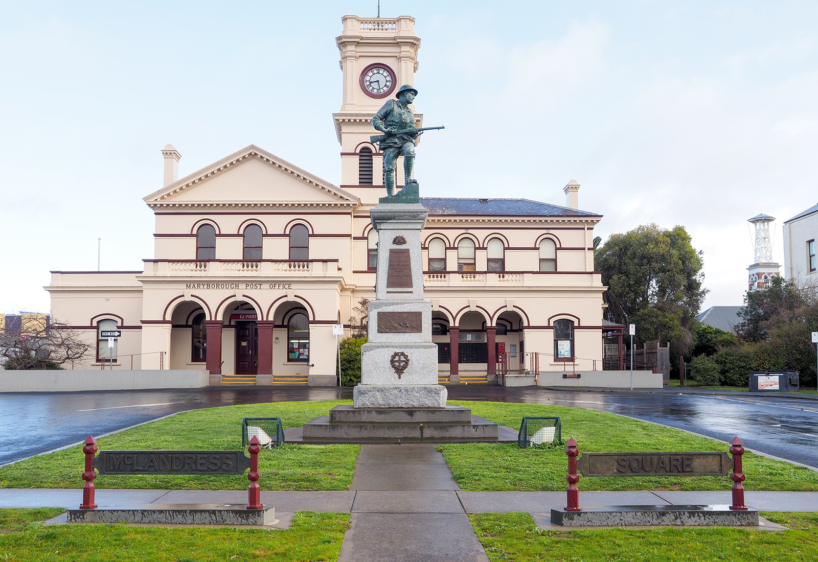 McLandress Square is a historic civic centre in Maryborough