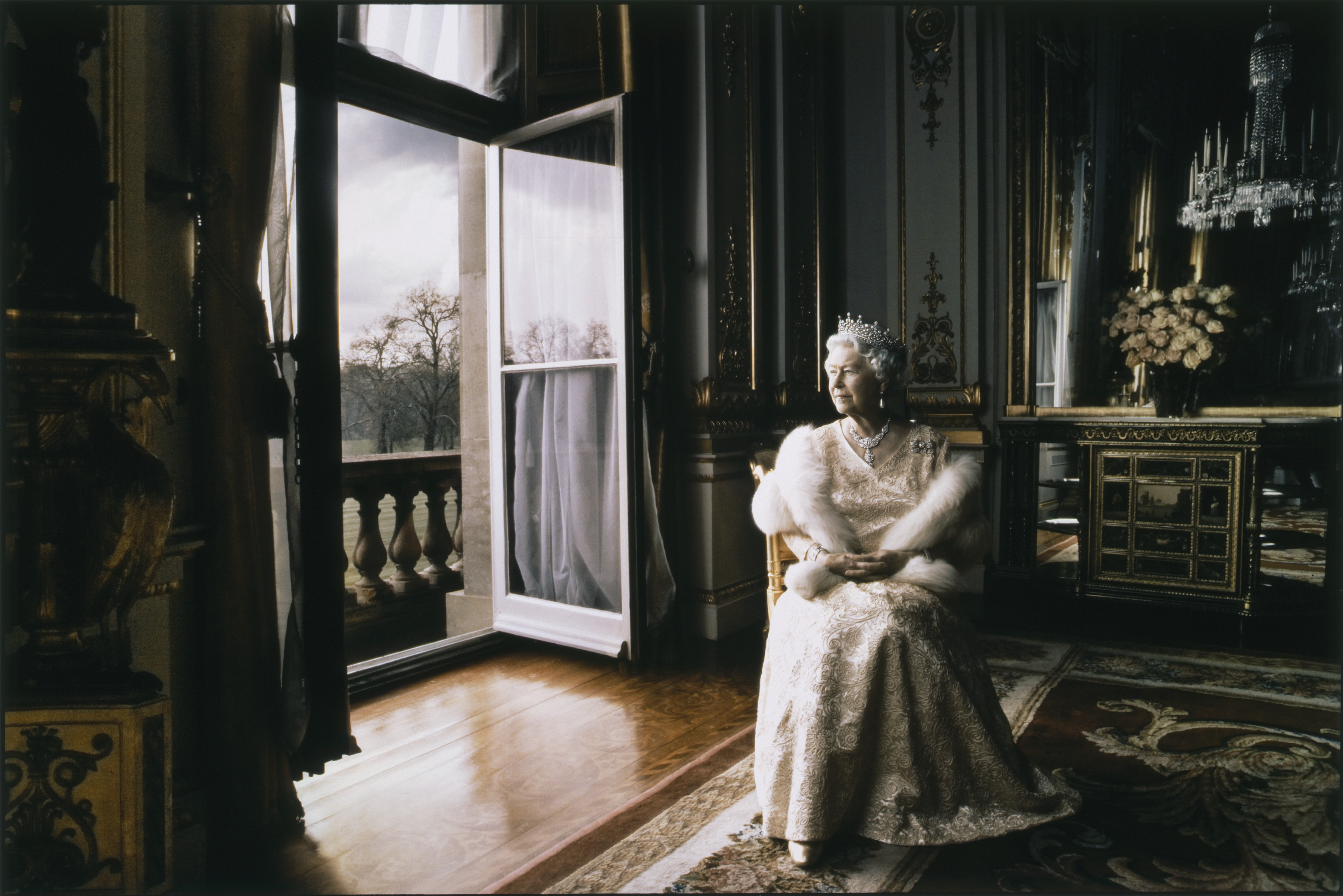 Queen Elizabeth II by Annie Leibovitz, 2007 Official Portrait of HRH Queen Elizabeth II © 2008 Annie Leibovitz, courtesy of the artist