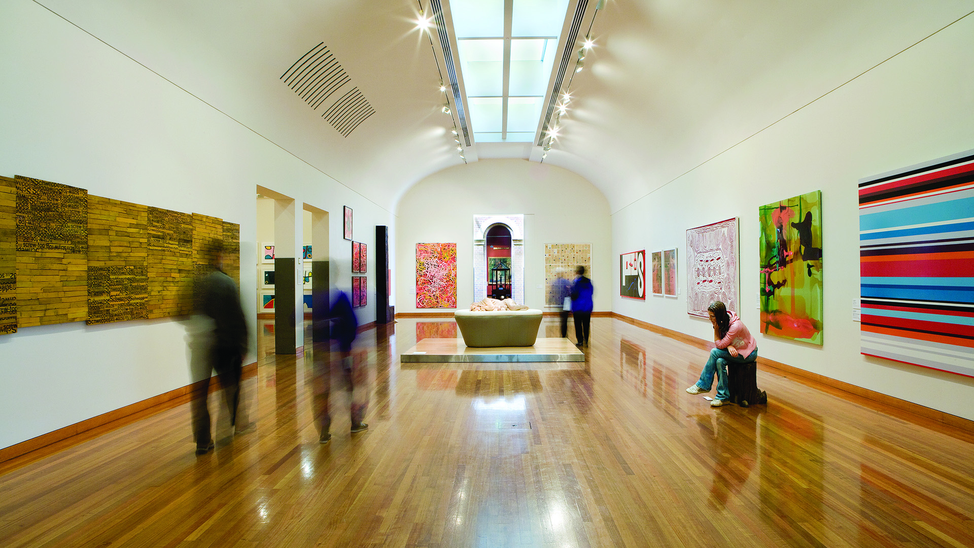 International and local artworks are on display at the Bendigo Art Gallery