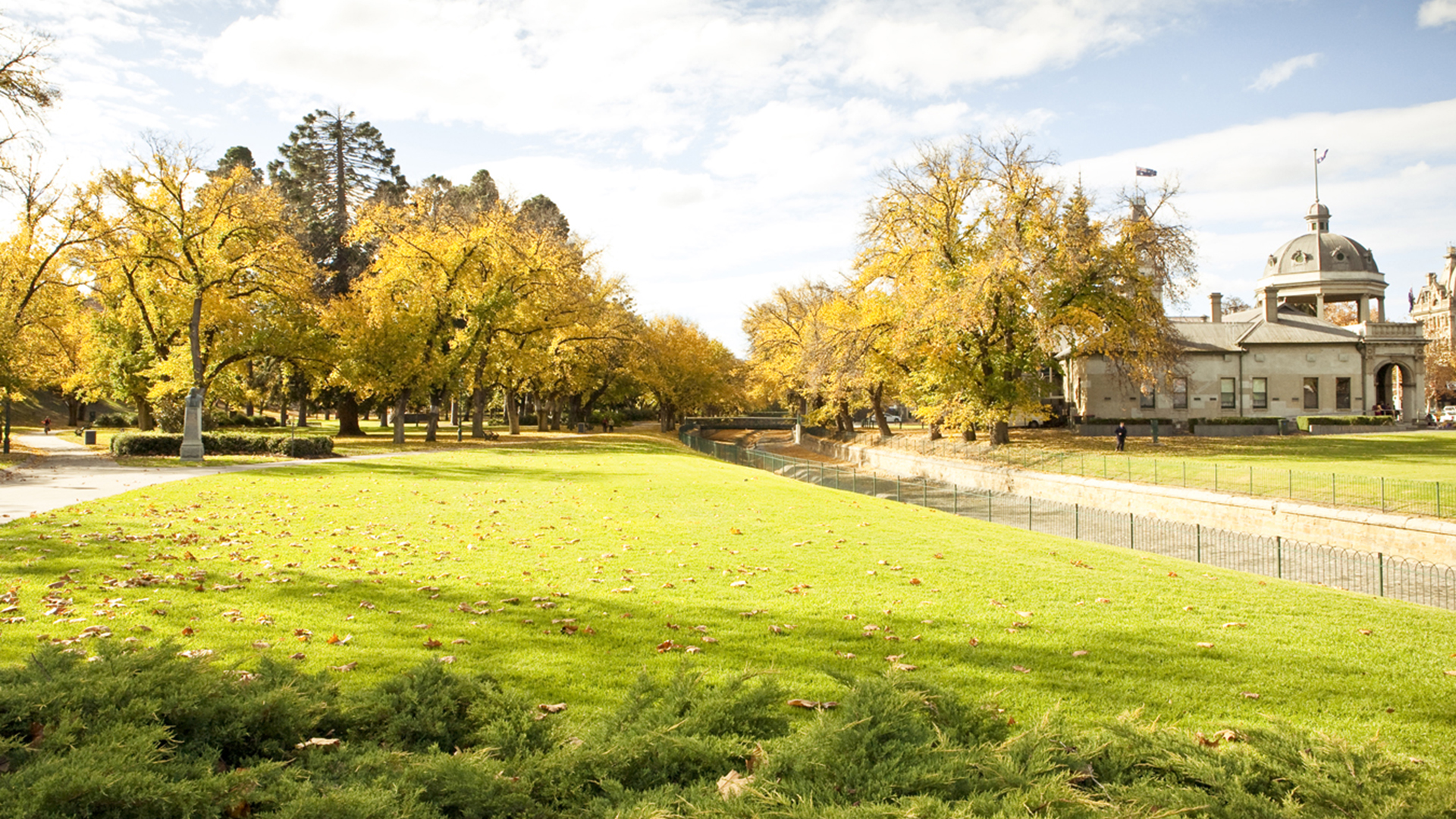 Rosalind Park in autumn