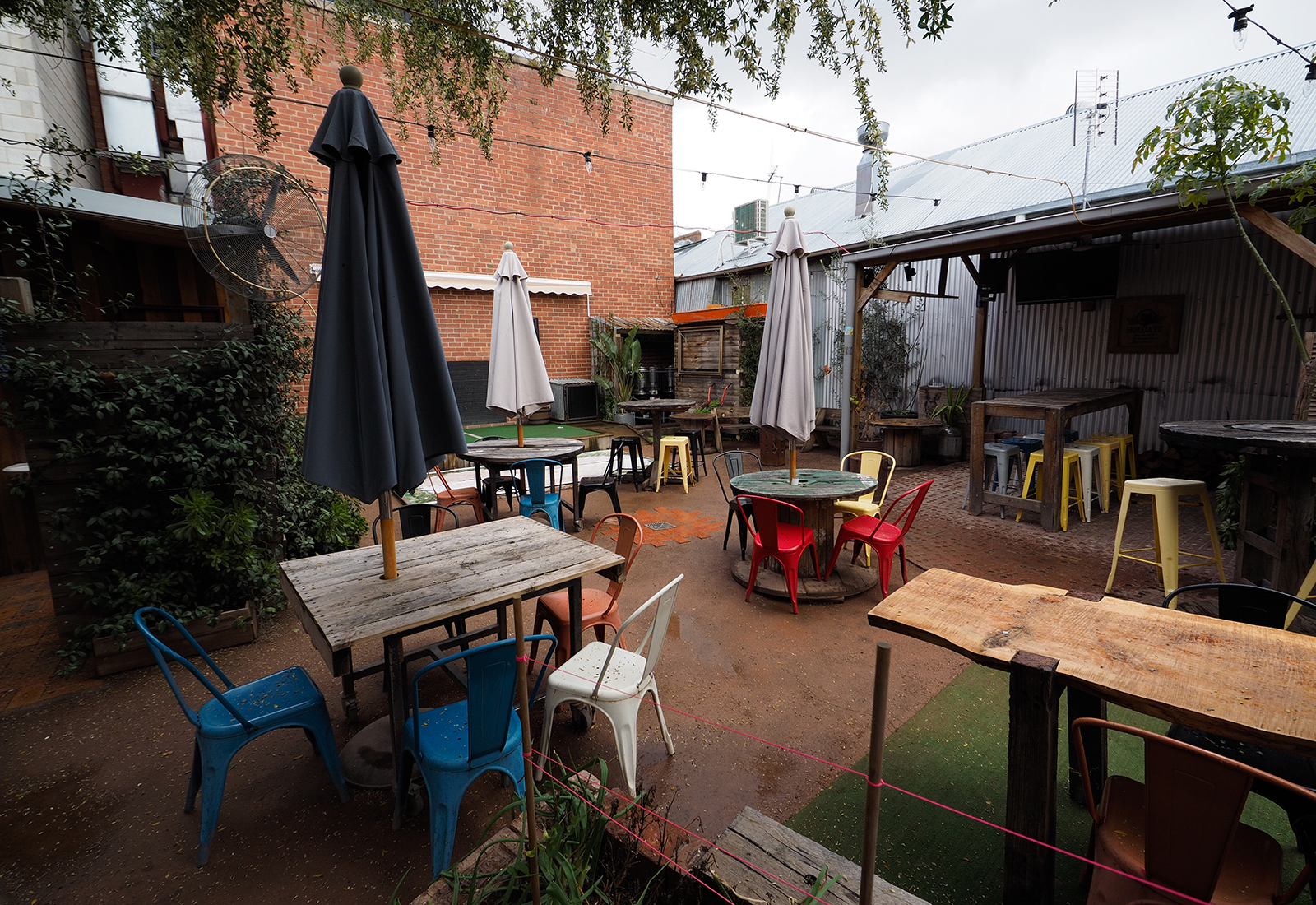 Handle Bar is a colourful and accessible bar in Bendigo