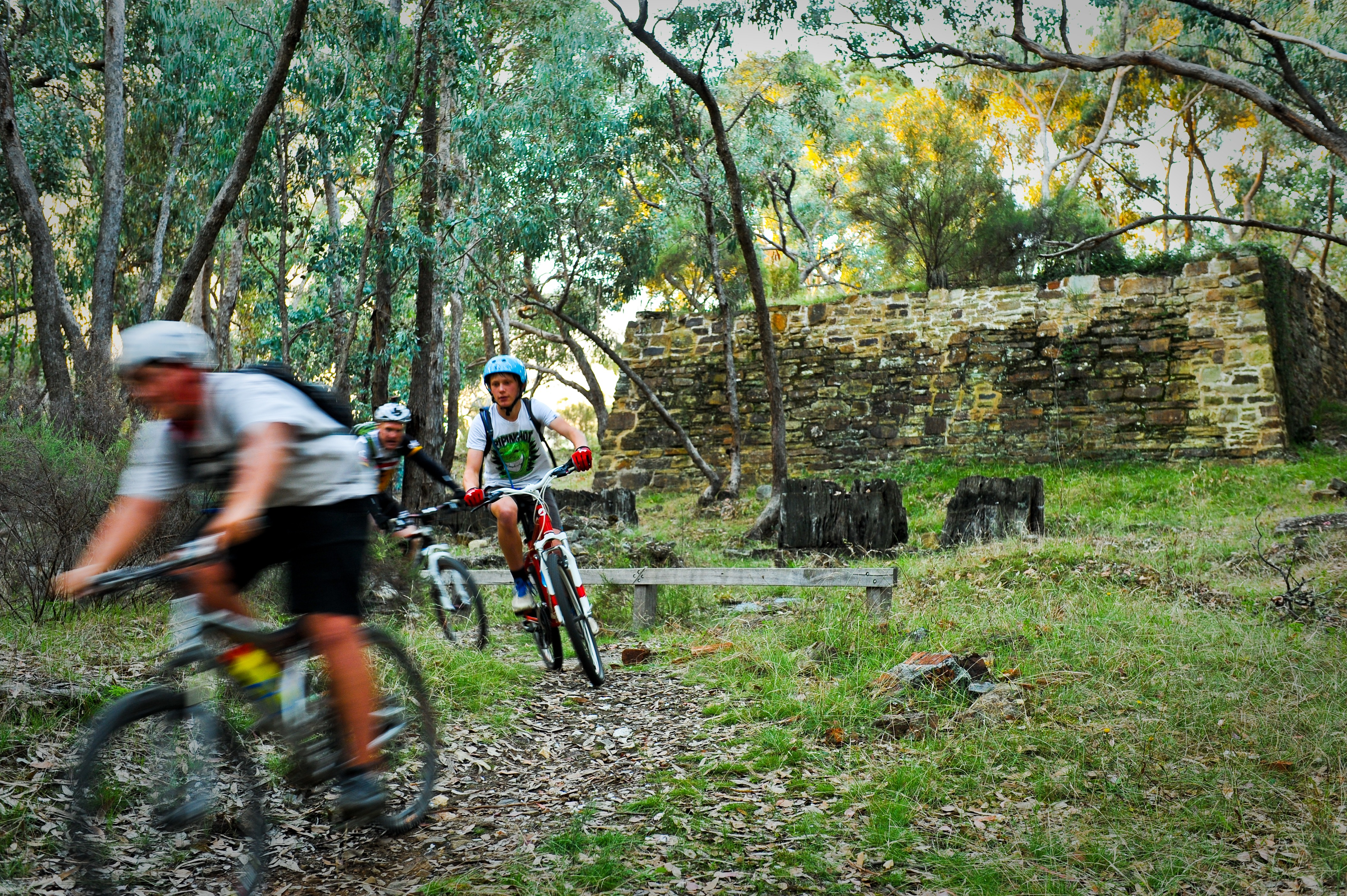 Riders on the Goldfields Track