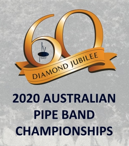 Logo - 2020 Australian Pipe Band Chmpionships 60 years Diamond Jubilee