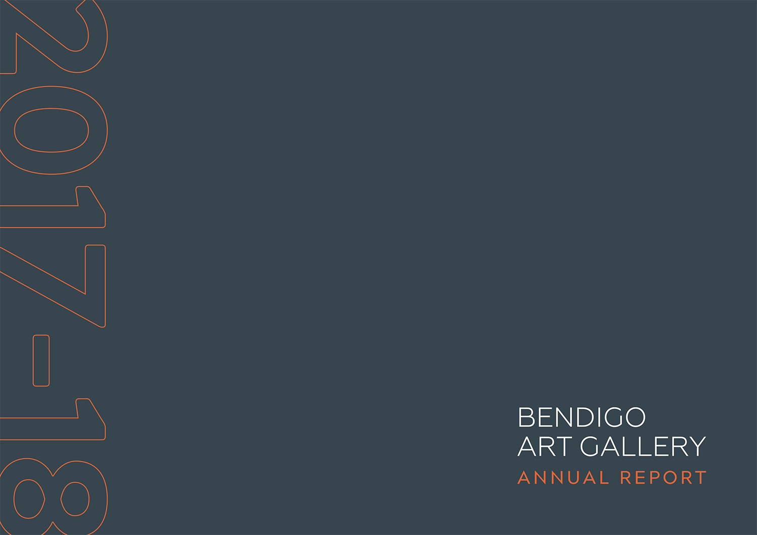 Bendigo Art Gallery Annual Report 2017-2018