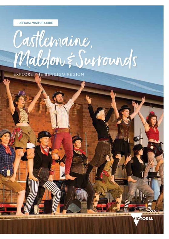 Castlemaine Official Visitors Guide