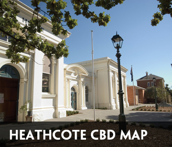 Heathcote CBD Map