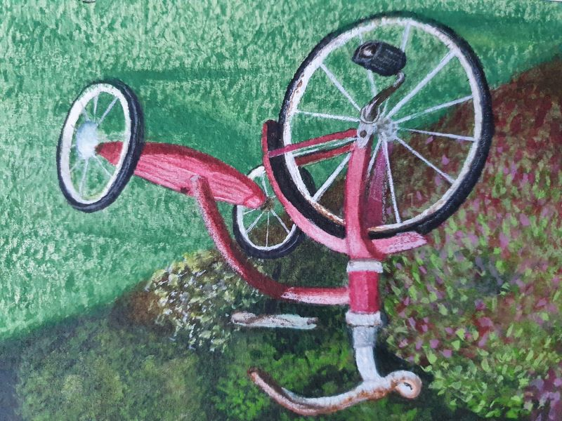 Jenny Keown, Remembering my tricycle