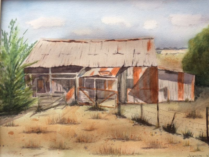 Josephine Walsh, Old Shed