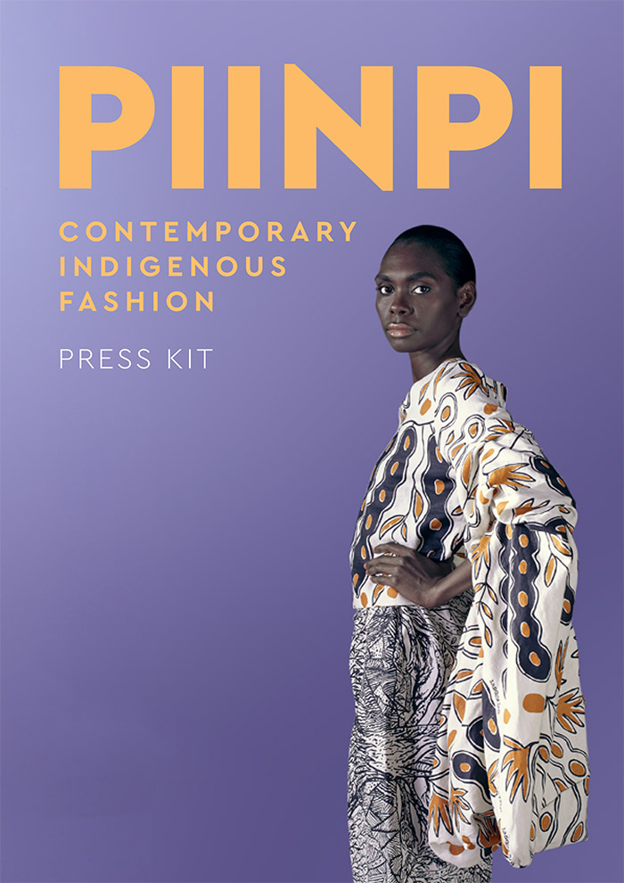 Piinpi Contemporary Indigenous Fashion press kit