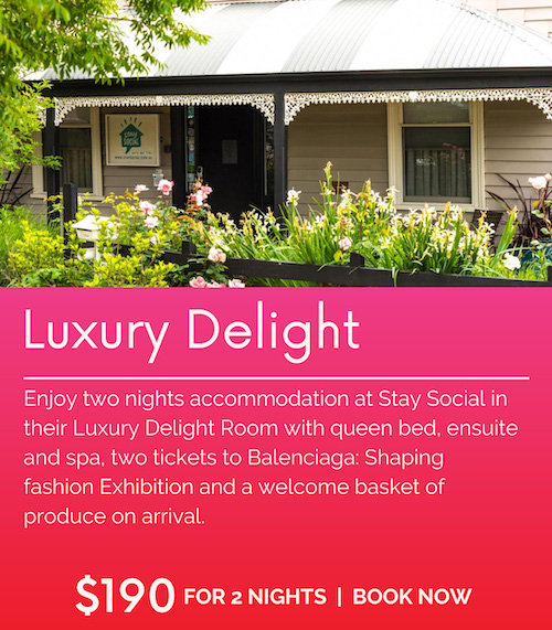 Stay Social Luxury Delight Balenciaga Package