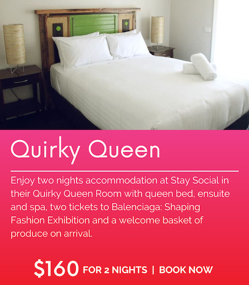 Stay Social Quirky Queen Balenciaga Package